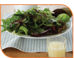 Lemon & ginger salad dressing